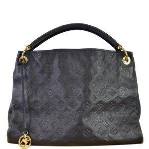 Louis Vuitton Artsy MM Empreinte Leather Shoulder